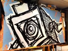 4'x8' paint on canvas