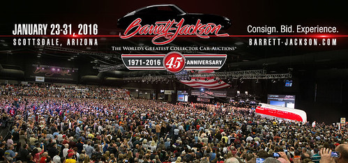 "SCOTTSDALE AZ USA - ""Barrett Jackson Auction Scottsdale"" January 23 to 31 - Saturday to Sunday Week - ""VELOCITY and DISCOVERY CHANNEL to air 36 hours of live coverage OF THE BARRETT-JACKSON SCOTTSDALE AUCTION IN JANUARY 2015"" - www.barrett-jackson.com • <a style=""font-size:0.8em;"" href=""http://www.flickr.com/photos/134158884@N03/23899002753/"" target=""_blank"">View on Flickr</a>"