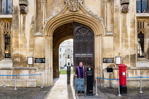 Kings College Entrance