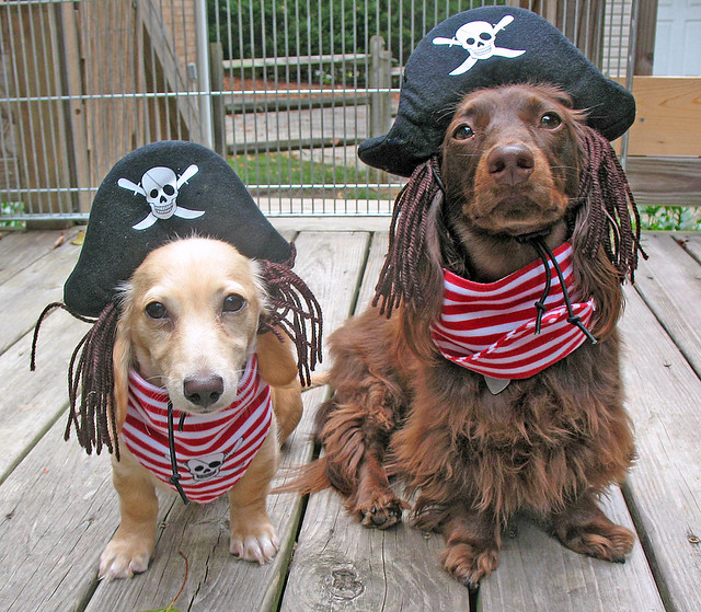 Pirates of the Uncertain with wardrobe malfunction.