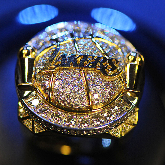 Lakers 2009-10 championship ring