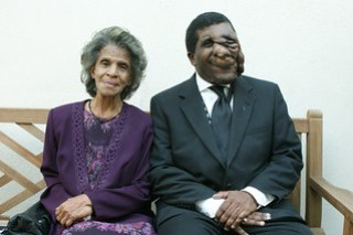 Reggie and his mother