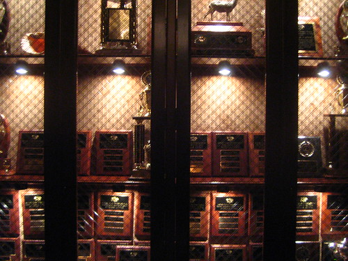 Plaques in the Great Room