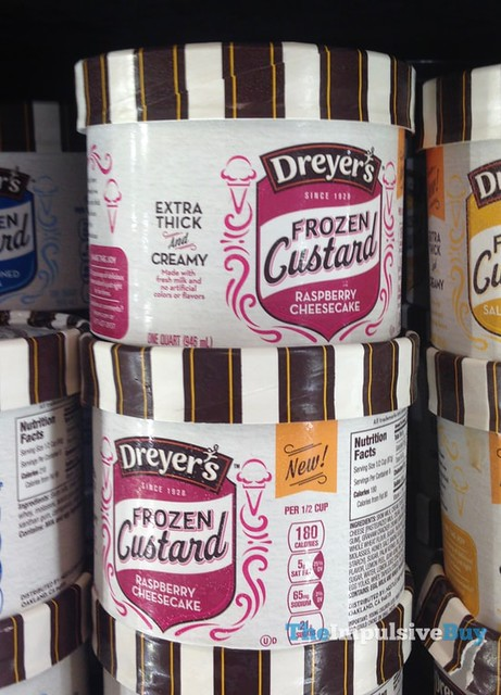 Dreyer's-Edy's Raspberry Cheesecake Frozen Custard