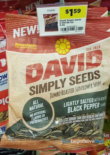 David Simply Seeds Black Pepper