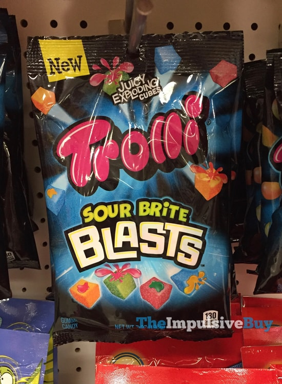 Trolli Sour Brite Blasts