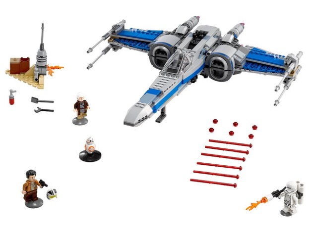 75149 Resistance X-Wing
