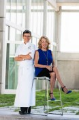 The Team Executive Chef Margaret Chisholm and Debra Lykkemark CEO