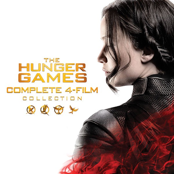 Hunger Games 4-Film Collection