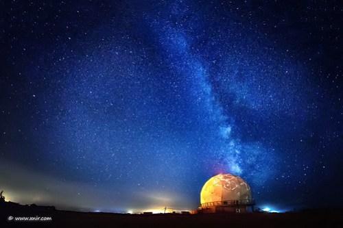 Under the Milky Way.