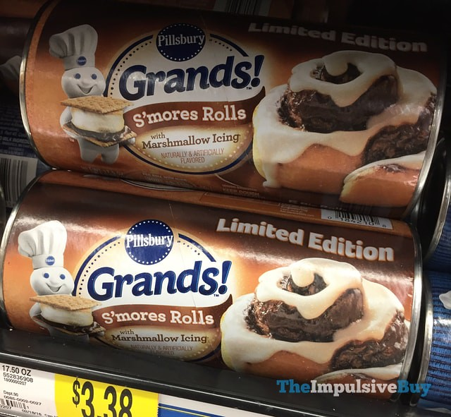 Limited Edition Pillsbury Grands! S'mores Rolls
