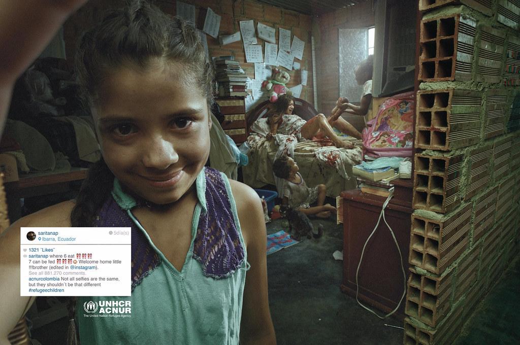 ACNUR : UNHCR Refugee Children - Sarita Selfie