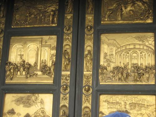 Door of Florence Battistero, detail