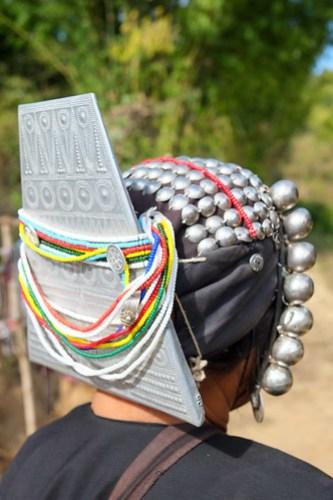 Akha headdress
