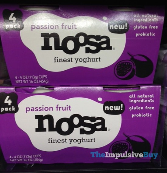 Passion Fruit Noosa Yoghurt 4-Pack