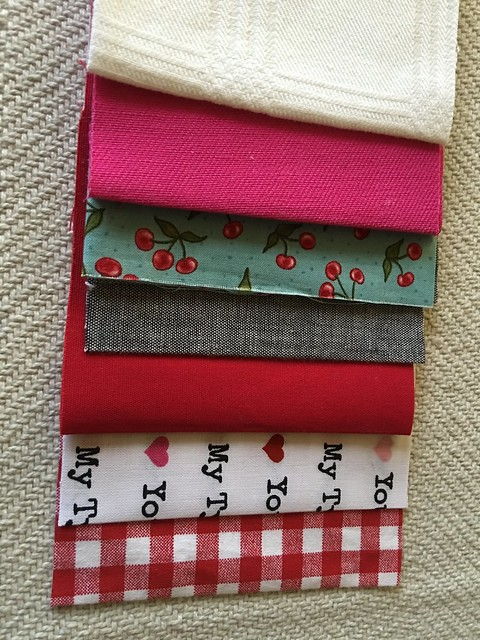 Valentine sewing