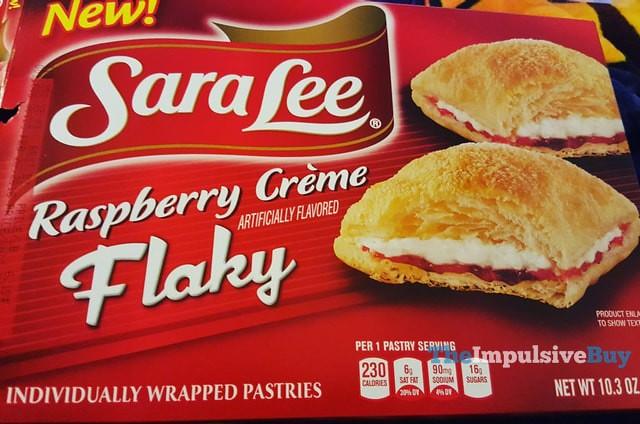 Sara Lee Raspberry Creme Flaky Pastries