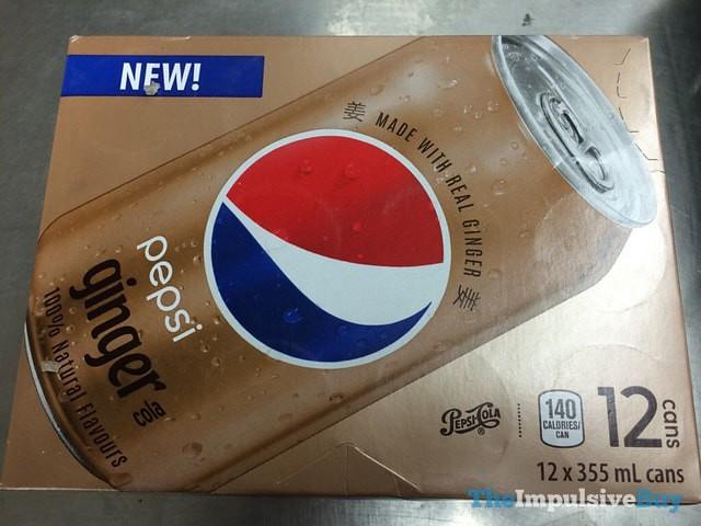Pepsi Ginger Cola