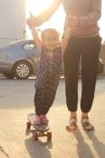 California kid, skateboarding