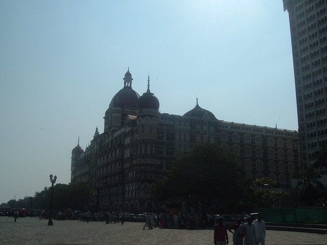 Taj hotel Mumbai, outside