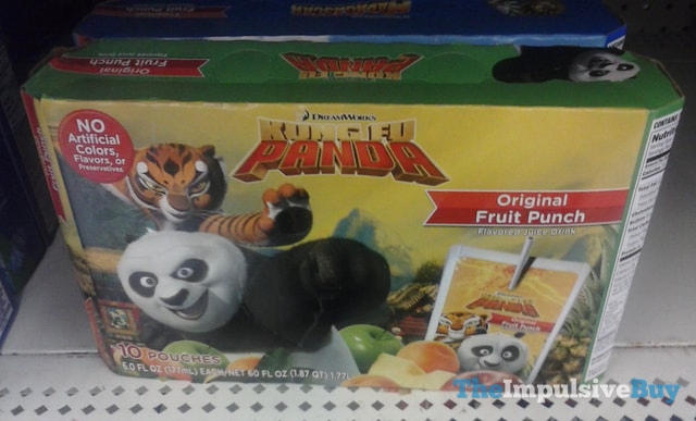 DreamWorks Kung Fu Panda Original Fruit Punch