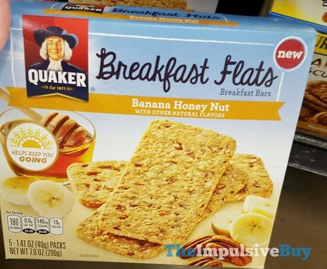 Quaker Banana Honey Nut Breakfast Flats