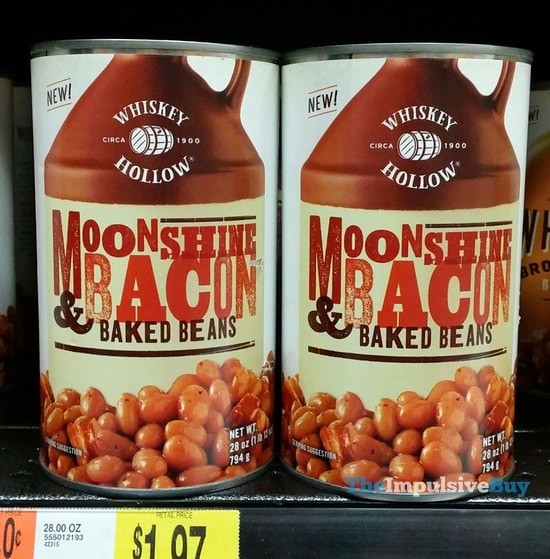 Whiskey Hollow Moonshine & Bacon Baked Beans