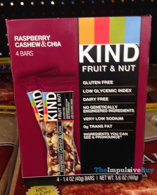 Kind Raspberry Cashew & Chia Bars