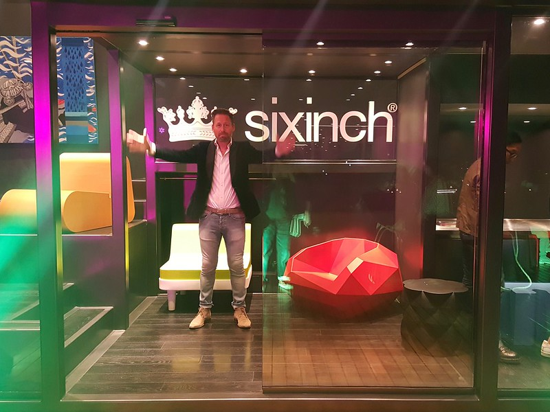 sixinch showroom at Ronac Art Center