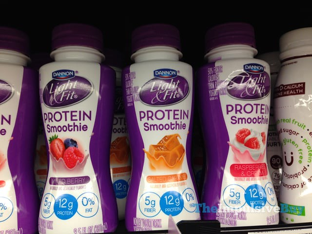 Dannon Light & Fit Protein Smoothie