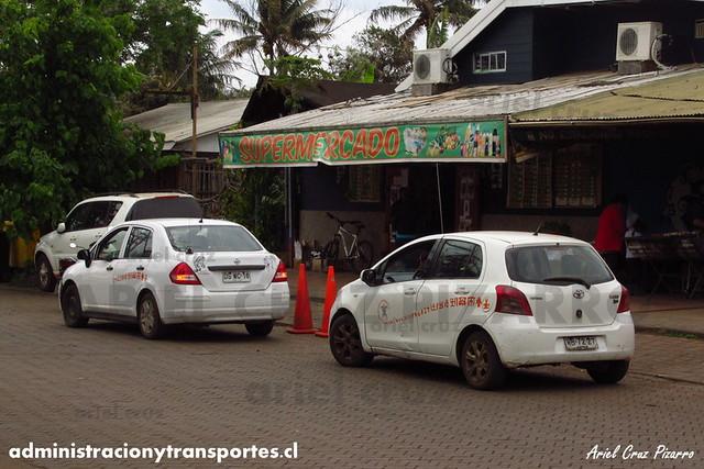 Taxi Isla de Pascua | Nissan Tiida - Toyota Yaris