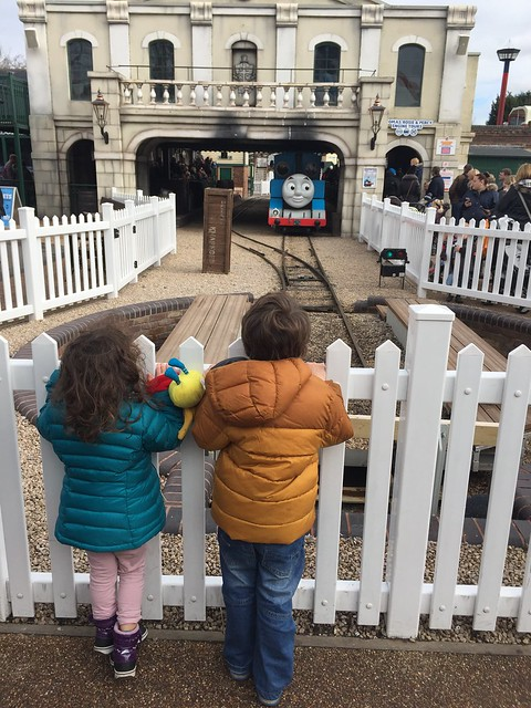 A day with Thomas: arriving at Thomas Land