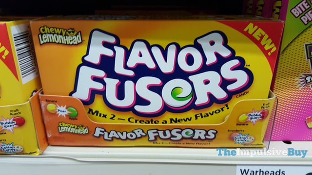 Chewy Lemonhead Flavor Fusers