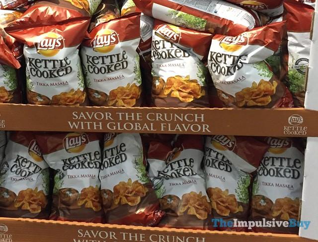 Lay's Kettle Cooke Tikka Masala Potato Chips