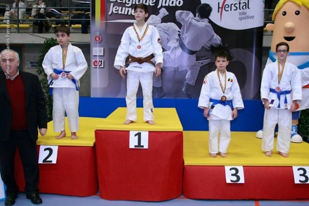 Vice champion de Belgique: Morel Sylvano