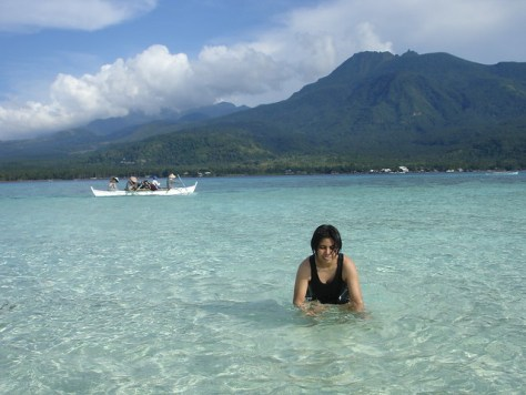 crystal clear water camiguin