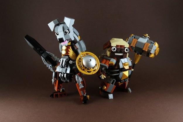 Dog Warrior-1