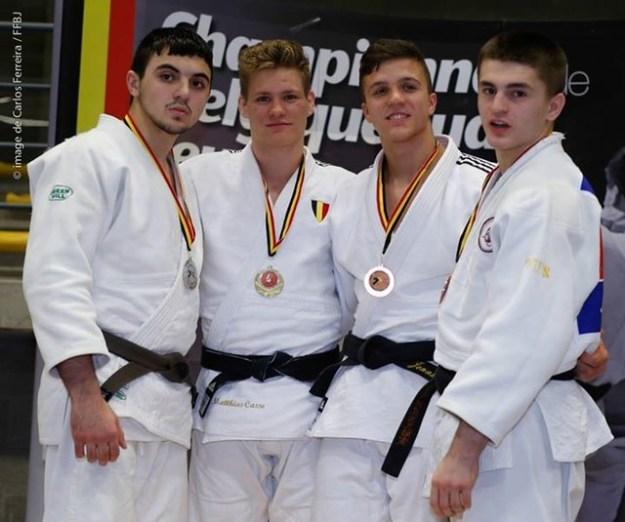Vice champion de Belgique: Sahakayan Tigran