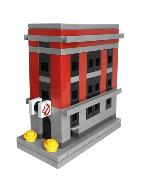 LEGO Mini Ghostbusters Firehouse