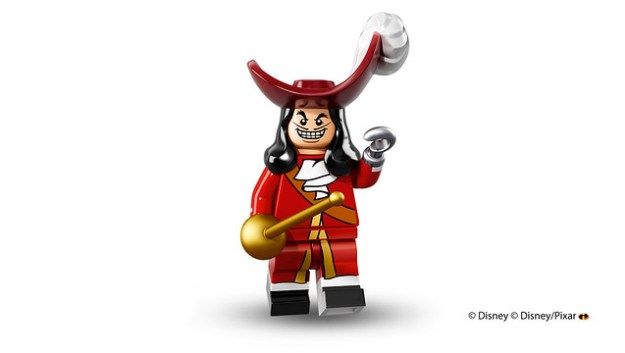 Lego Disney Minifigures Captain Hook