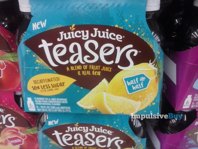Juicy Juice Teasers Half and Half 6-Pack