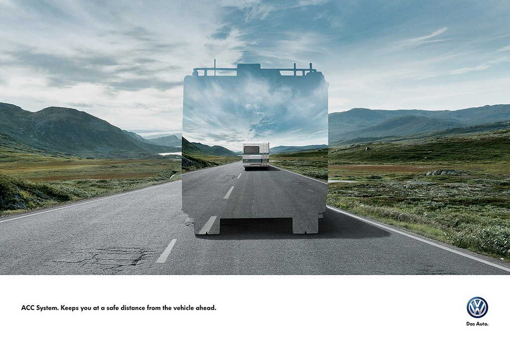 Volkswagen ACC System - Keeps you at a safe distance 2