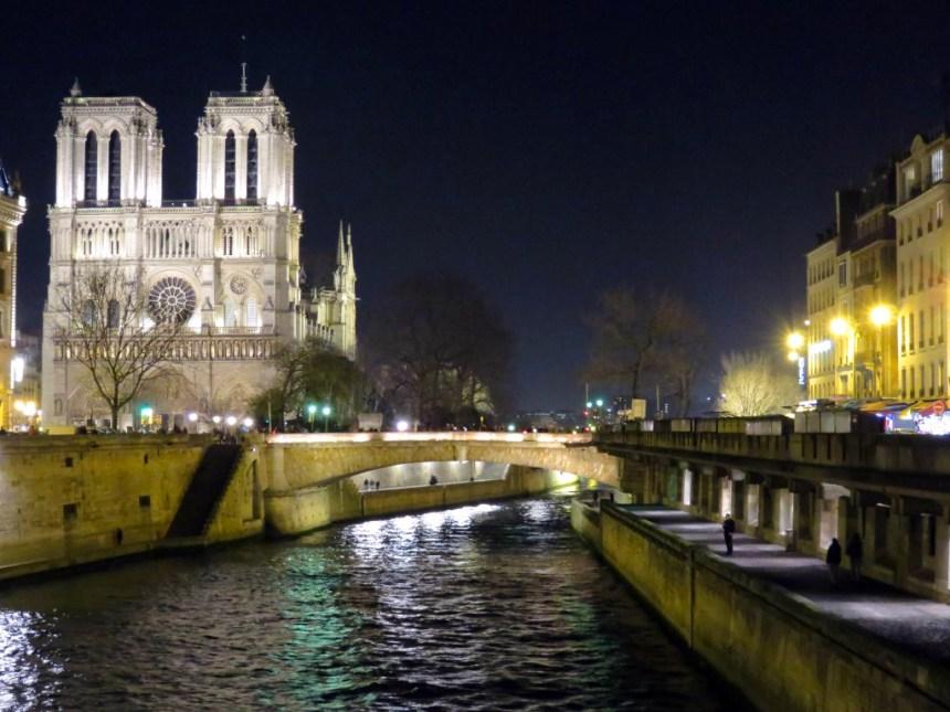 Catedral de Notre Dame en La Cité, París (Francia)
