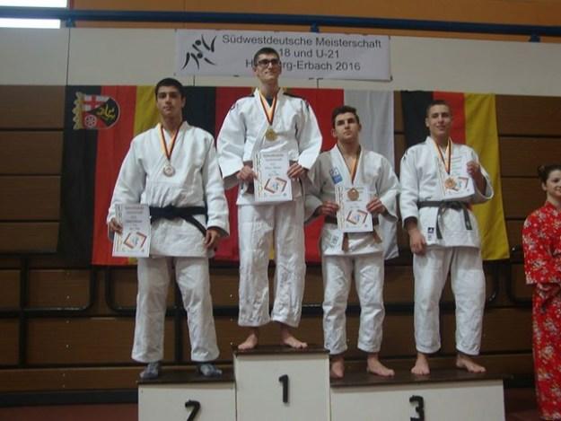 Championat Suedwest (comme Regional) 2ème Place, qualifie' pour national. Adrian n' a pas participe'.