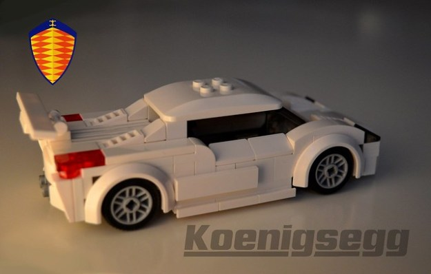 Lego Koenigsegg CCGT sports car
