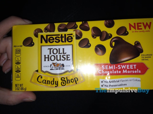 Nestle Toll House Candy Shop Semi-Sweet Chocolate Morsels