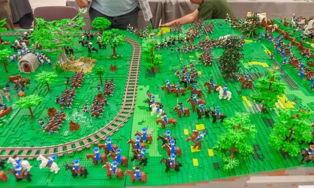 Battle of Bricksburg:  Overview