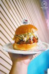 Gee Gee Burger, $12: Hello Kitty Diner, Chatswood. Sydney Food Blog Review