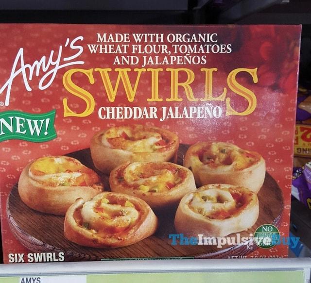 Amy's Cheddar Jalapeno Swirls