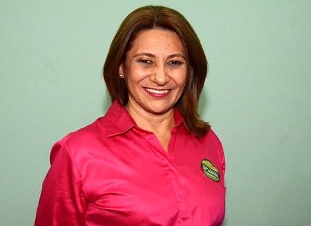 Reitora Raimunda Monteiro